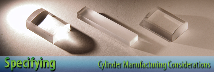 Specifying cylinder