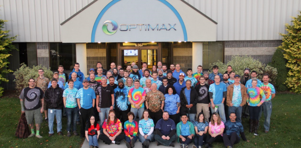 Optimax family group tie dye