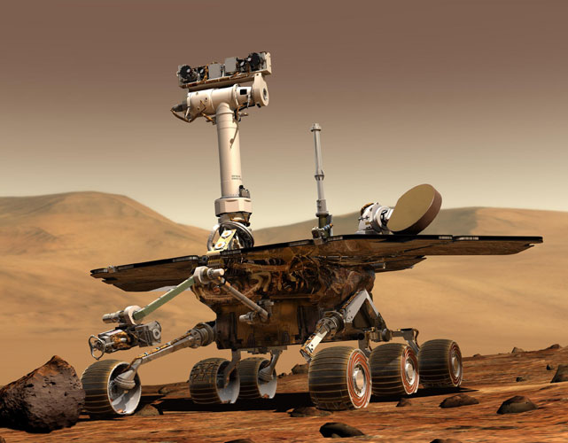 Optical coating for space, Mars Rover, Curiosity