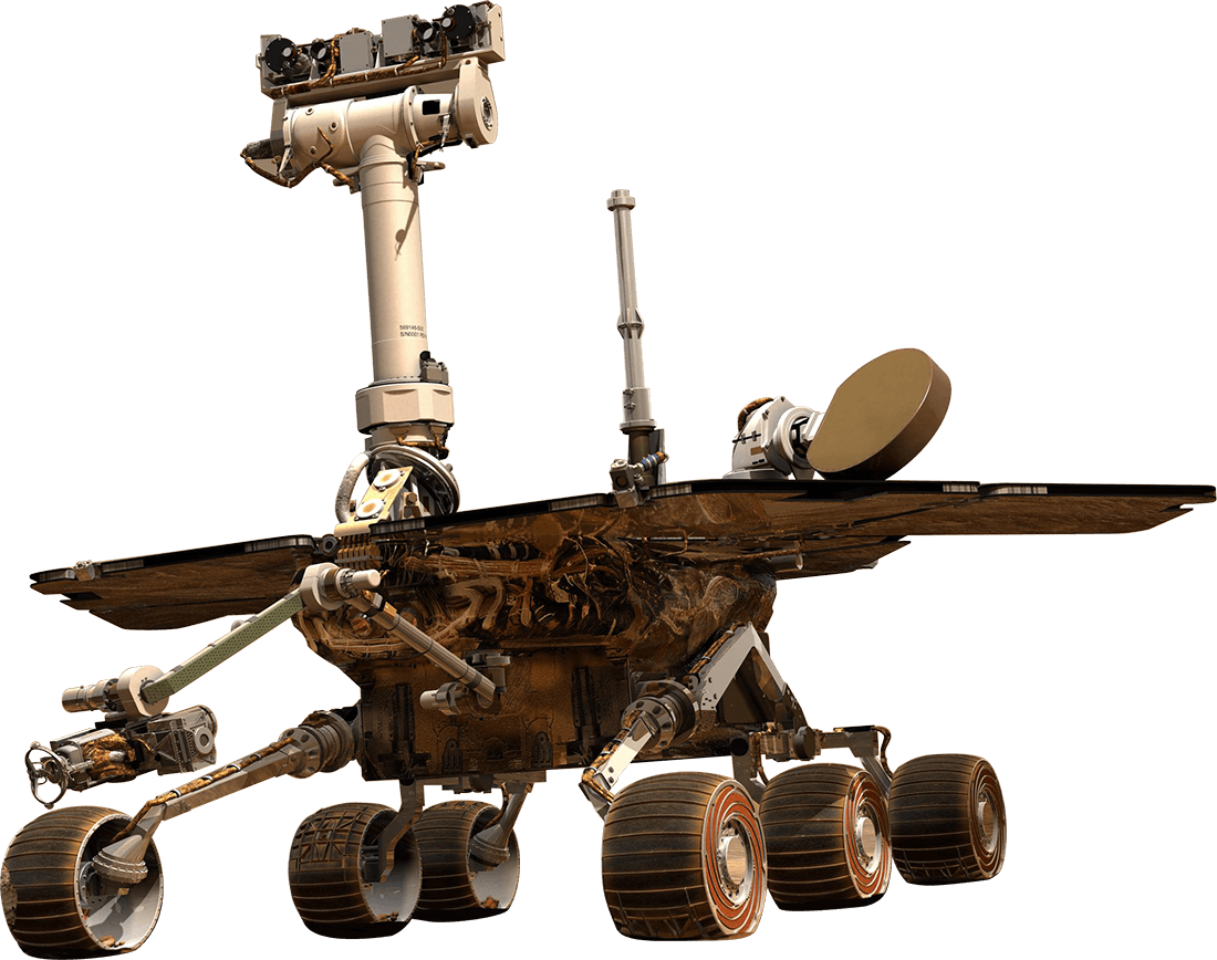 Mars space rover