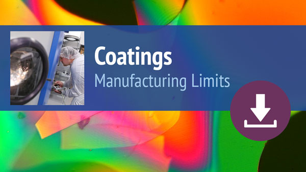 Coatings Manufacturing Limits