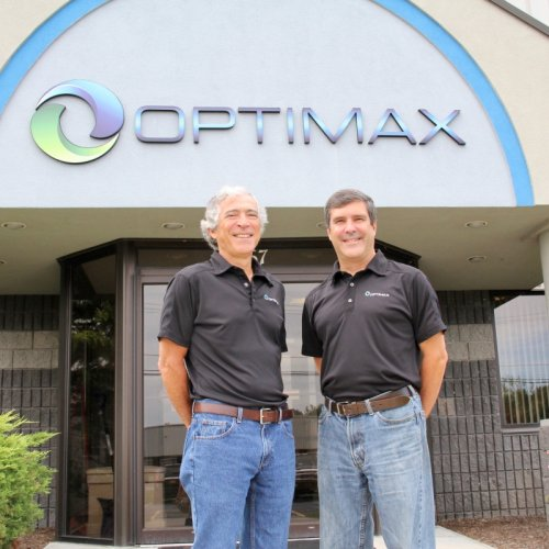 Rick and Mike Optimax building