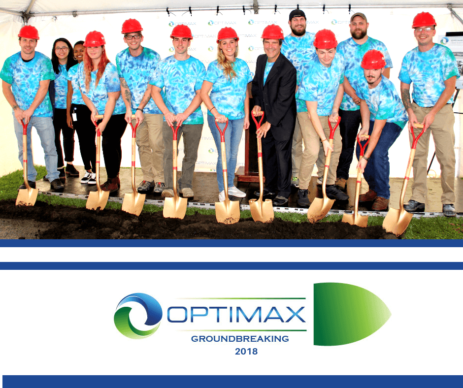 Optimax groundbreaking 2018