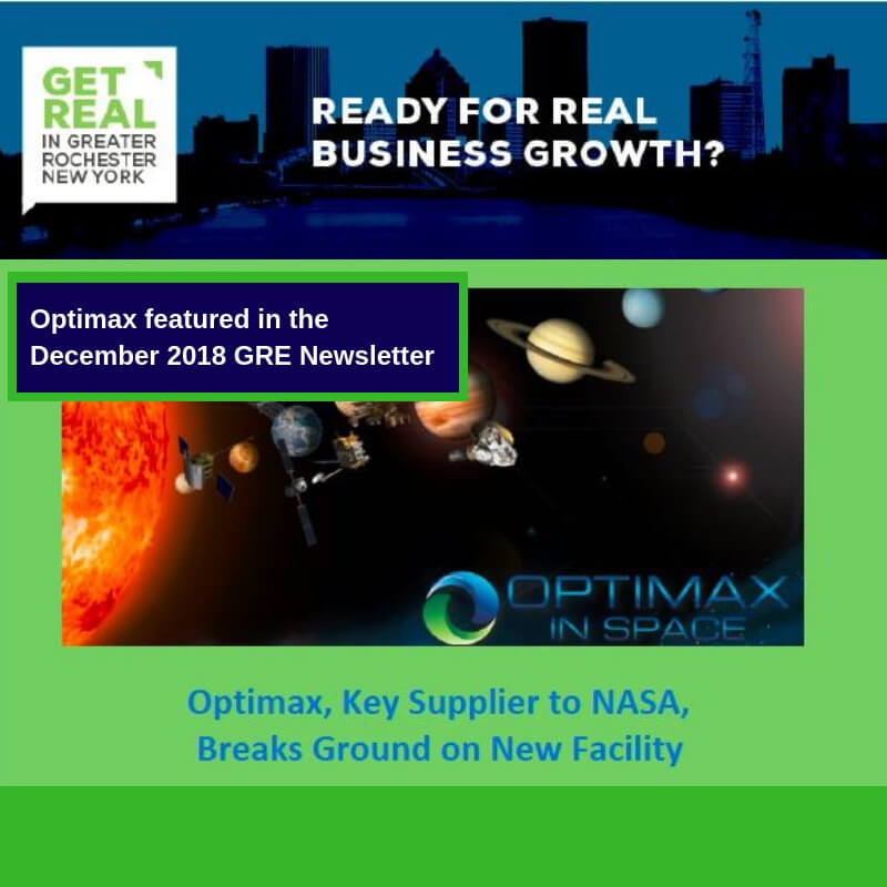 Optimax 2018 GRE newsletter feature