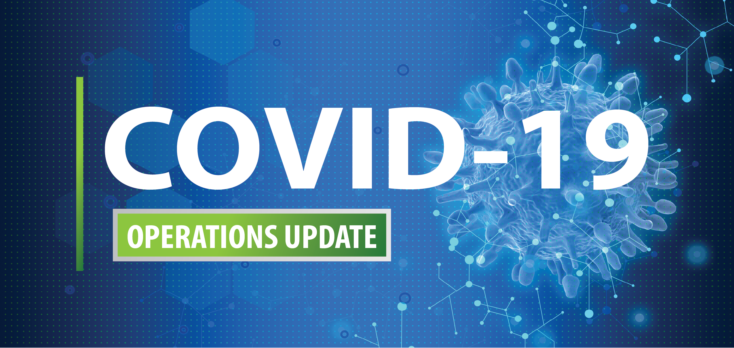 COVID19 operations update