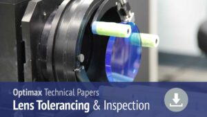 Lens tolerancing and inspection tech papers