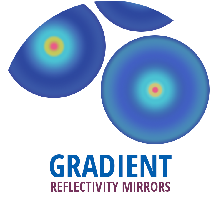 Gradient Reflectivity Mirrors