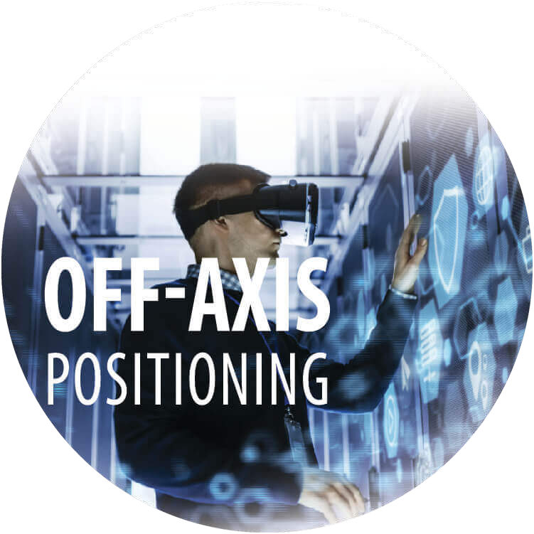 Off-Axis Positioning