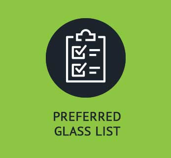 Preferred Glass List