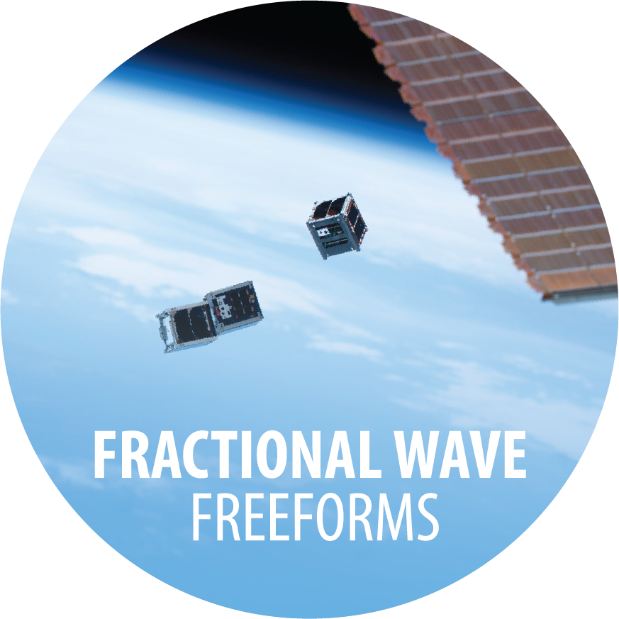 Fractional Wave Freeforms
